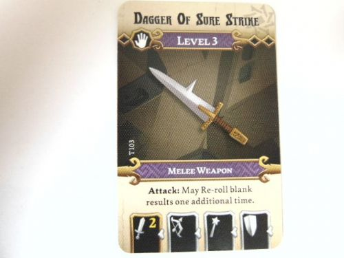 md - l3 treasure card (dagger of sure strike)